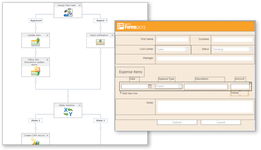 Nintex Forms and Workflow